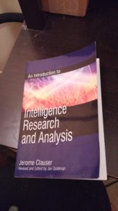 Introduction to Intelligence Research and Analysis